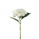 Großhandel Kunstblumen: Hortensie Ina  H53cm, creme-weiß